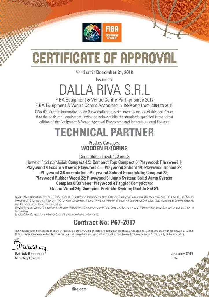 #fiba #certification #parquet #wooden #flooring #certificate