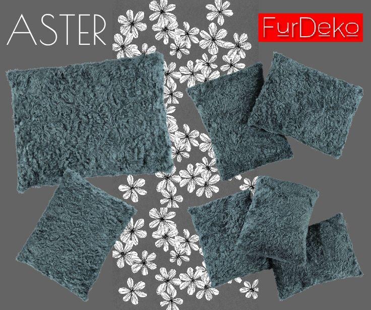 Wielki powrót! Poduszka ASTER w kolorze szarym dostępna w sprzedaży!  Kliknij: http://furdeko.pl/product-pol-19-Futrzana-poduszka-dekoracyjna-ASTER-szary-40x50-cm.html :)  www.FurDeko.pl
