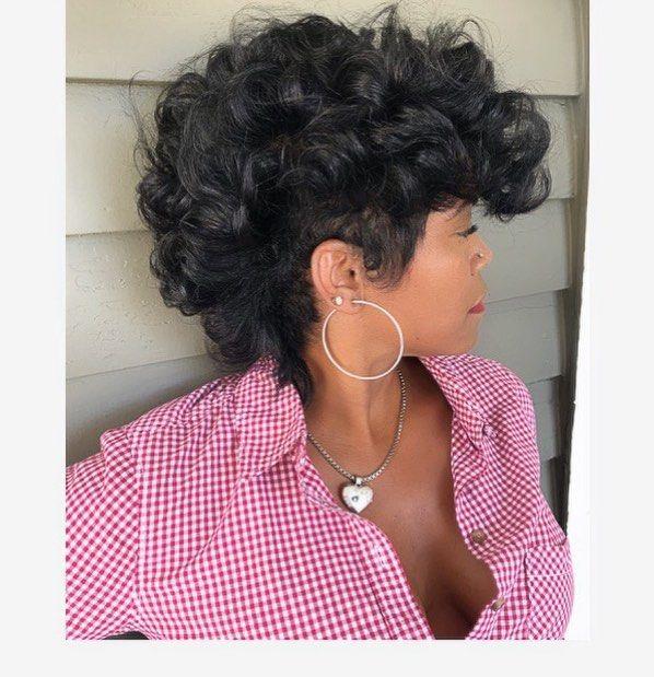 Ask Your Hairstylist About The Kelly Cut Najahonhair Liketheriversalon Shorthairbootcamp Premierebirmingham Pr Hair Stylist Big Hair Short Hair Styles