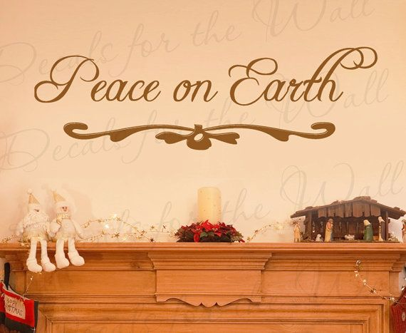 Contemporary Peace On Earth Wall Decor Model - Wall Art Design ...