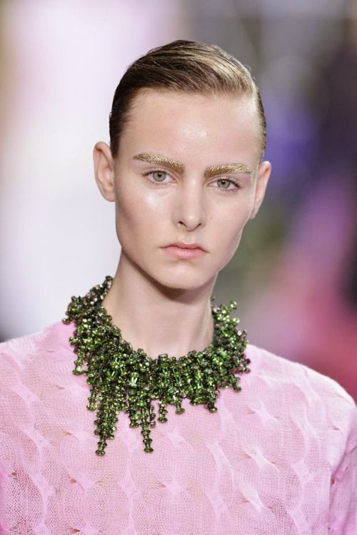 """glamrockandlove: """" The green necklace 