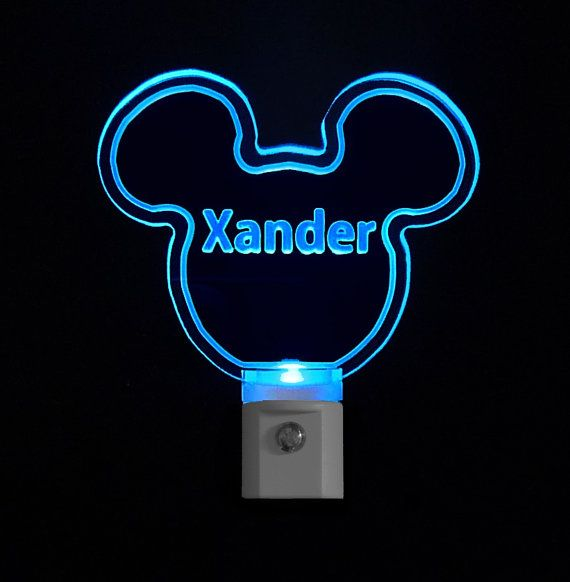 1000+ images about Disney Personalized LED Night Light on ...