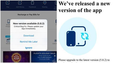 Paytm releases iOS update to fix 'critical bug'