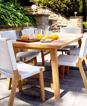 Love this outdoor setting Eco Outdoor - Furniture - Low and Side Tables - Barwon