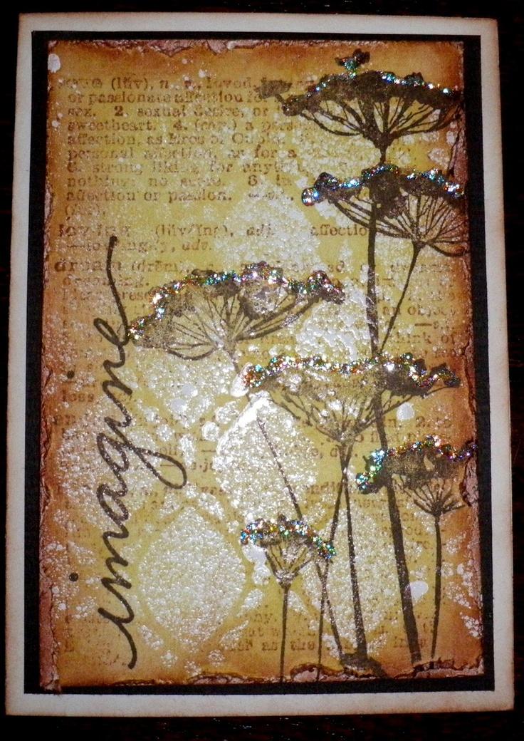 172 Best Images About Dandelion Cards On Pinterest