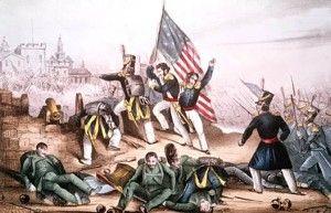 El 13 de septiembre de 1847 se llevó a cabo la Batalla de Chapultepec entre Estados Unidos y México, en ocasión de la invasión efectuada por los primeros.