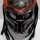 Custom Predator Motorcycle Dot Helmet Airbrush