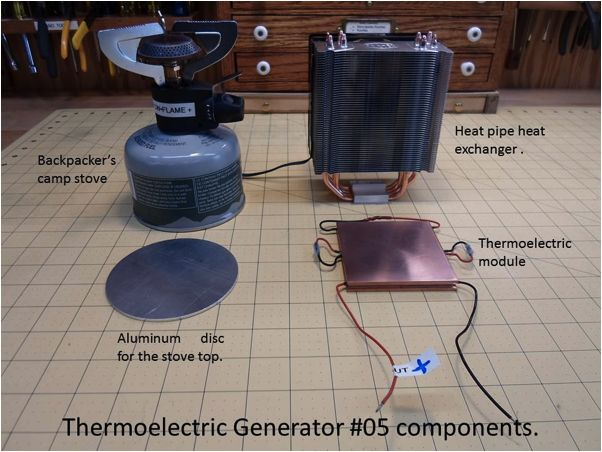 how to build a thermoelectric generator pdf