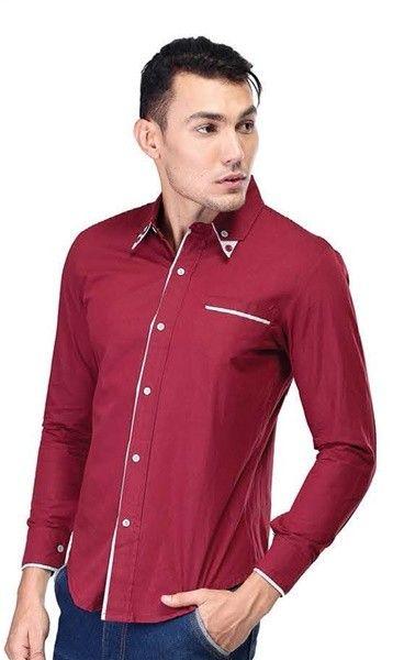 Cotton Shirt Red