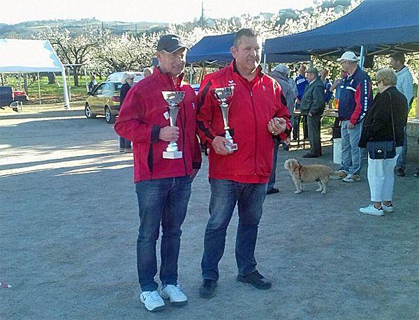"""""""Championnat doublettes seniors de la Loire 2017, les vainqueurs"""" - FORUM"""