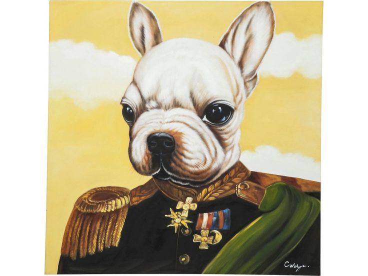 Obraz Little General Bull Dog — Obrazy Kare Design — sfmeble.pl