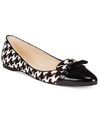 Nine West Saxiphone Smoking Flats - Flats - Shoes - Macy's. Comes in size 11. Great for work with wide-leg trouser.