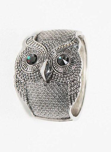 Owl Cuff Bracelet