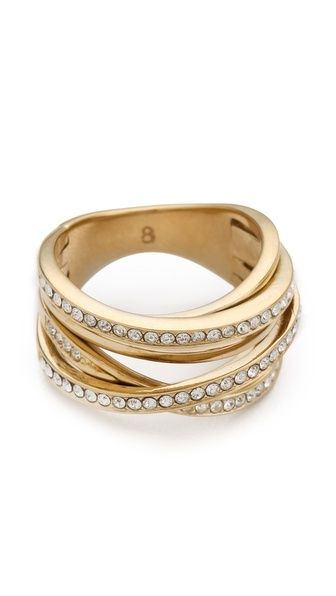 Michael Kors Pave Stack Ring.