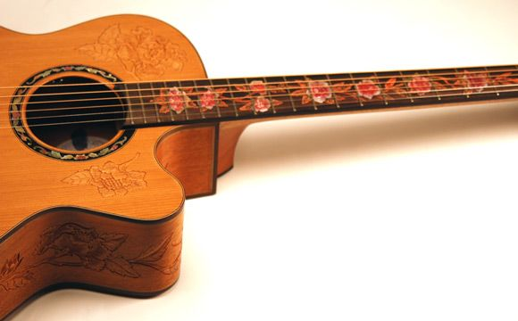 27 best images about guitar on pinterest ibanez electric for Acoustic guitar decoration