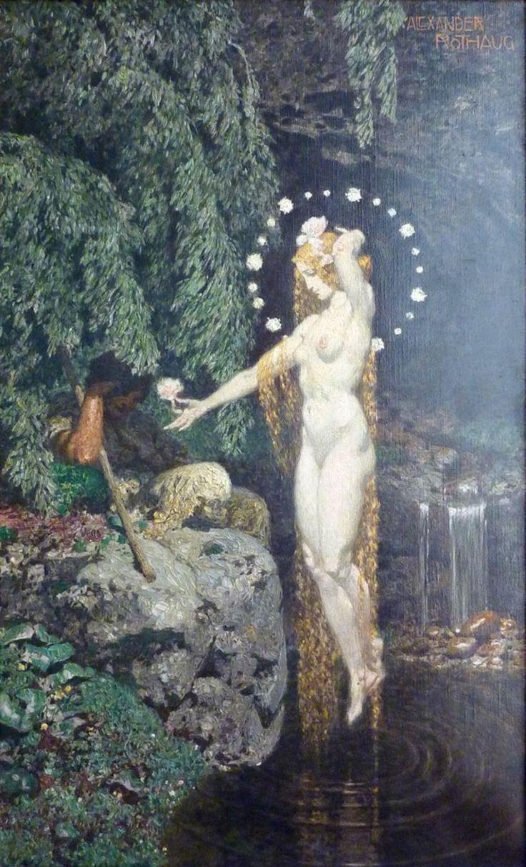 Alexander Rothaug (1870-1946) - Die Wunderblume