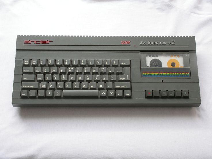 Sinclair ZX Spectrum+ 2 (1986). Mi primer ordenador!
