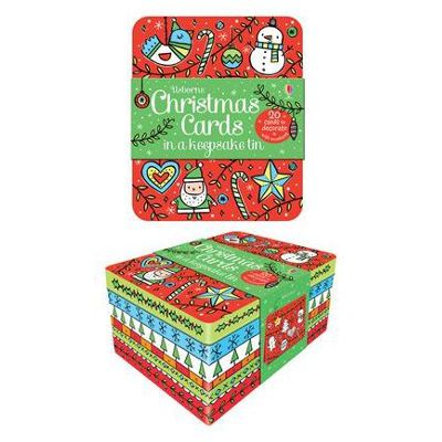 Usborne Christmas cards to colour and decorate - Sunnyside