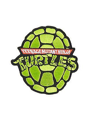 Teenage Mutant Ninja Turtles Shell Iron-On Patch,