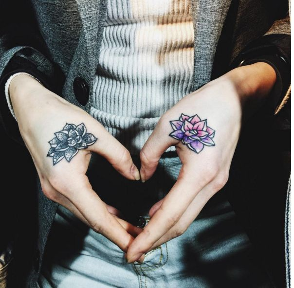 150 best images about lotus tattoos on pinterest small for Small lotus tattoo