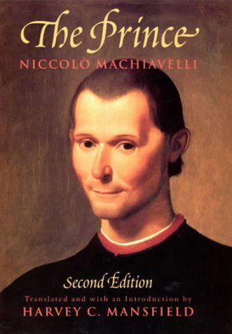The Prince by Niccolo Machiavelli: Astonishing in its candor The Prince even today remains a disturbingly realistic and prophetic work on what it takes to be a prince . . . a king . . . a president. In The Prince he envisioned would be unencumbered by ordinary ethical and moral values; his prince would be man and beast, fox and lion.  This is essential reading for every student of government, and is the ultimate book on power politics.