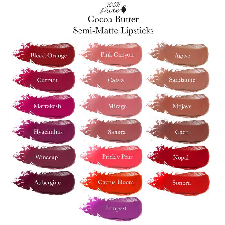 Cocoa Butter Matte Lipstick: Sahara