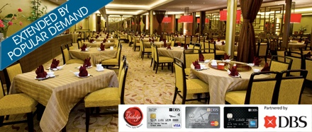 credit card hotel buffet promotion 2013