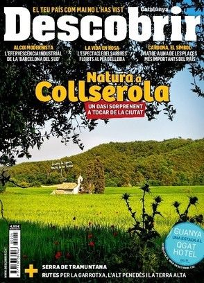 Revista #Descobrir 205. Natura a #Collserola, un oasi sorprenent a tocar de la ciutat. #Alcoi moderniste, la vida en rosa al pla de #Lleida, #Cardona.