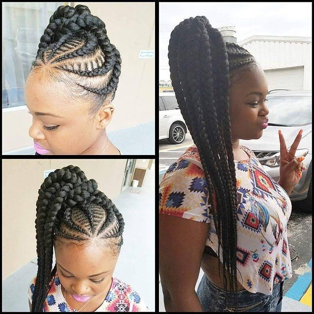 latest ghana weaving hairstyles (4) http://maboplus.com/stunning-ghana-weaving-styles-for-ladies/