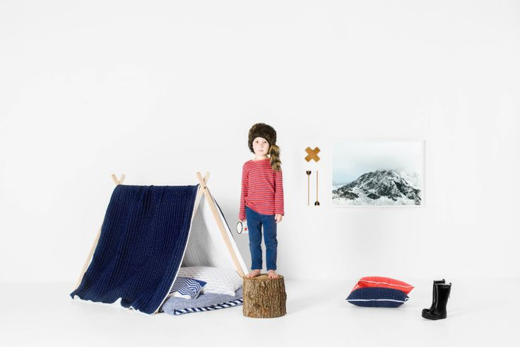 SCOUT Kids 2014 - Styled teepee shot - SCOUT Kids range of stitched quilts and kid's bedding www.scoutlifestyle.com Stylist/photo credits: Marsha Golemac and Brooke Holm