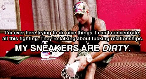 This is by far my favorite quote Pauly d has ever said