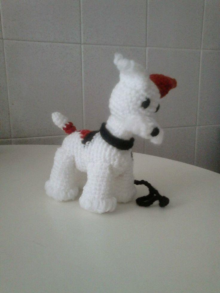 Perro Amigurumi Fox Terrier - Patrón Gratis en Español