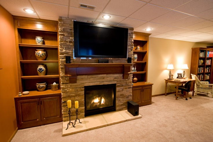 Cost To Remodel A Kitchen: Southwestern Style Basement Finish