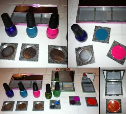 diy vanity for little girl. Great idea to do for Elsa Pretend make up  Find this Pin and more on DIY little Girls Vanity 73 best Play makeup images Pinterest