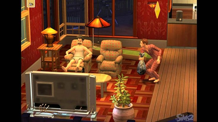 The Sims 2 PC 2004 Gameplay