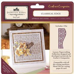 Downton Abbey Classical Edge Crafters Companion Die