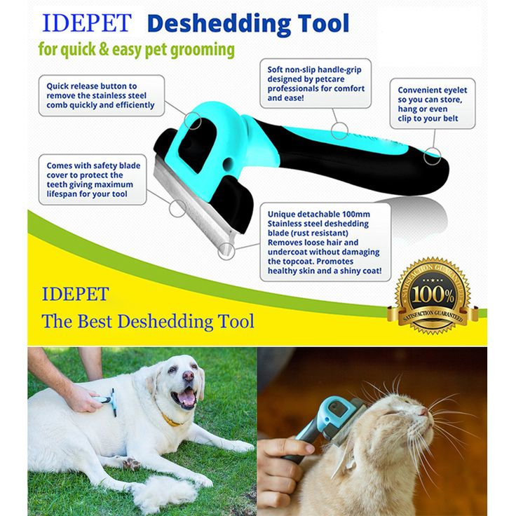 High Quality Dog Comb Pet Grooming Tool Brush for Small Medium Large Dogs   Cats with Short to Long Hair Reduces Shedding 05 * Vy mozhete poluchit' boleye podrobnuyu informatsiyu, nazhav na izobrazheniye.