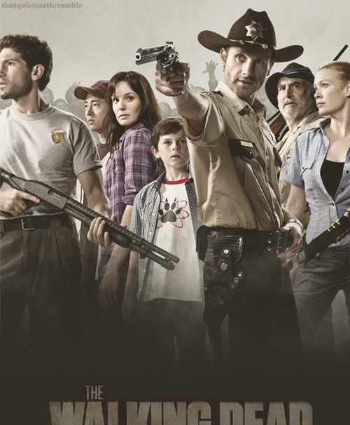 The Walking Dead  Ready for the third season, please and thanks.