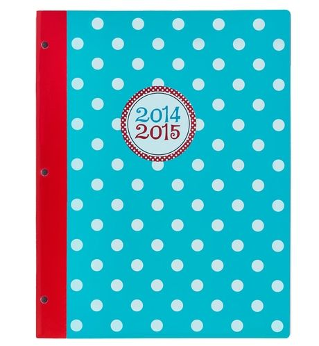 Polka Party Large Monthly Planner