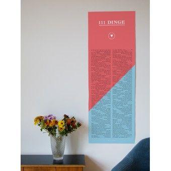 Valentinstagsgeschenk – Inspiration für Verliebte – Poster - 111Dinge