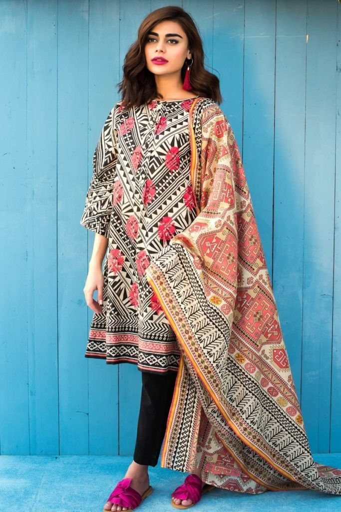332c07b87c LATEST KHAADI LAWN COLLECTION 2018 | Fashion | Pakistani designer ...