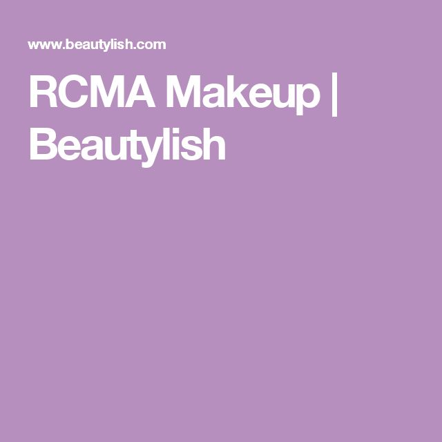RCMA Makeup | Beautylish