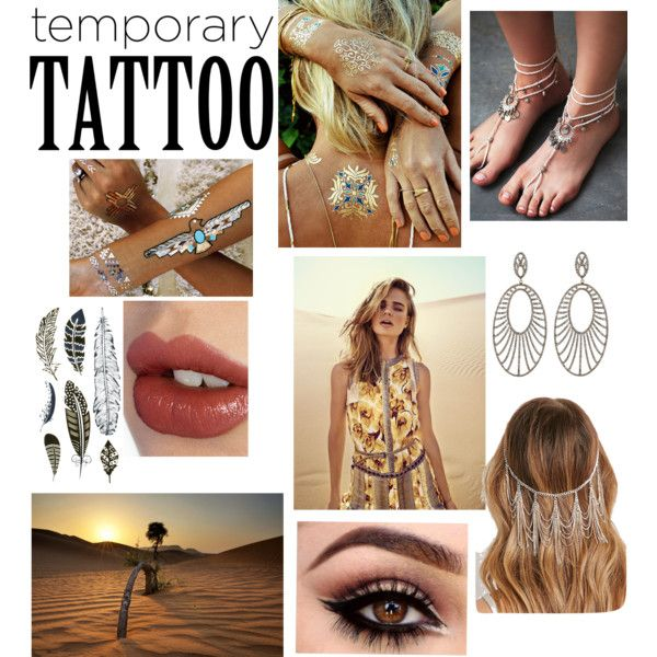 ~Marked Goddess~ {A journey through the desert} by annabellalom on Polyvore featuring Carole Shashona, Free People, Flash Tattoos, Forever 21, Charlotte Tilbury, Desert, goddess, Marked, temporarytattoos and flashtats