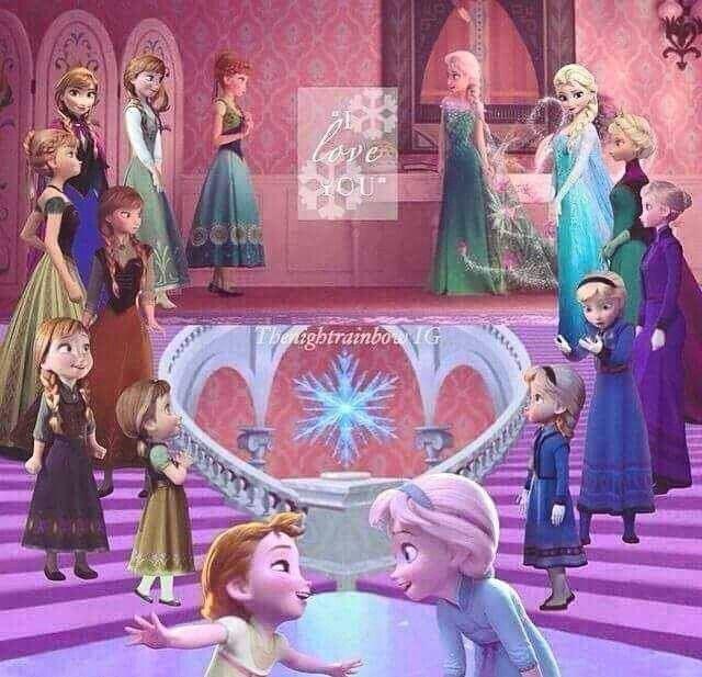 138 best la reine des neige et raiponce images on - Anna princesse des neiges ...