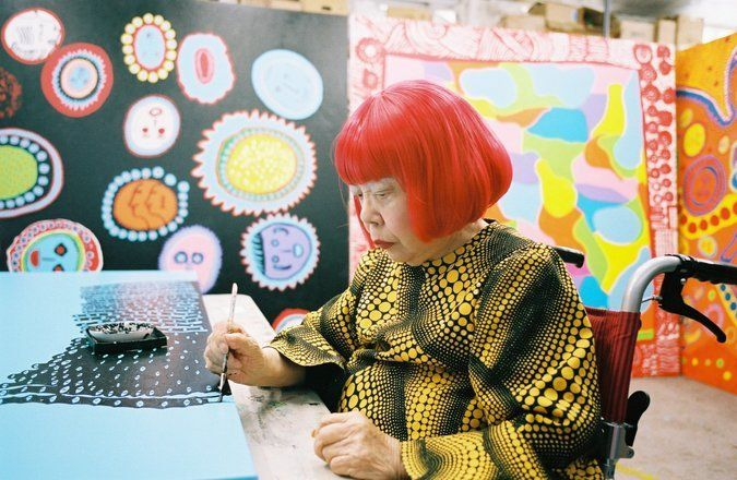 Yayoi Kusama, Queen of Polka Dots, Opens Museum in Tokyo - The New York Times