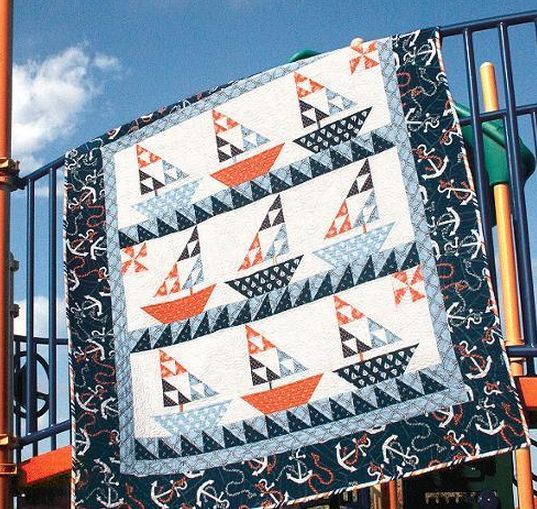 205 Best Images About Sailboat Quilts On Pinterest Free
