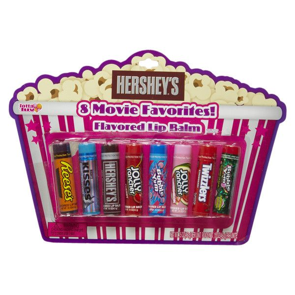 Movie Favorites Candy Lip Balm Set lip gloss ($11) ❤ liked on Polyvore