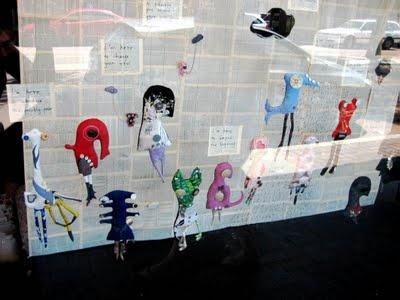 """Exhibition """"I'm Here"""" by Gillian T Bencke, 2009, Perth WA"""