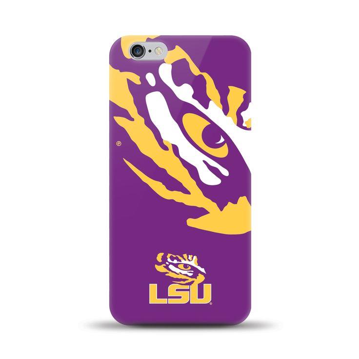 Iphone 6 Plus Ncaa Oversized Snapback Tpu Case Louisiana State University