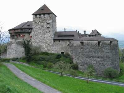 Liechtenstein - Vaduz (capital)  Schloss Vaduz